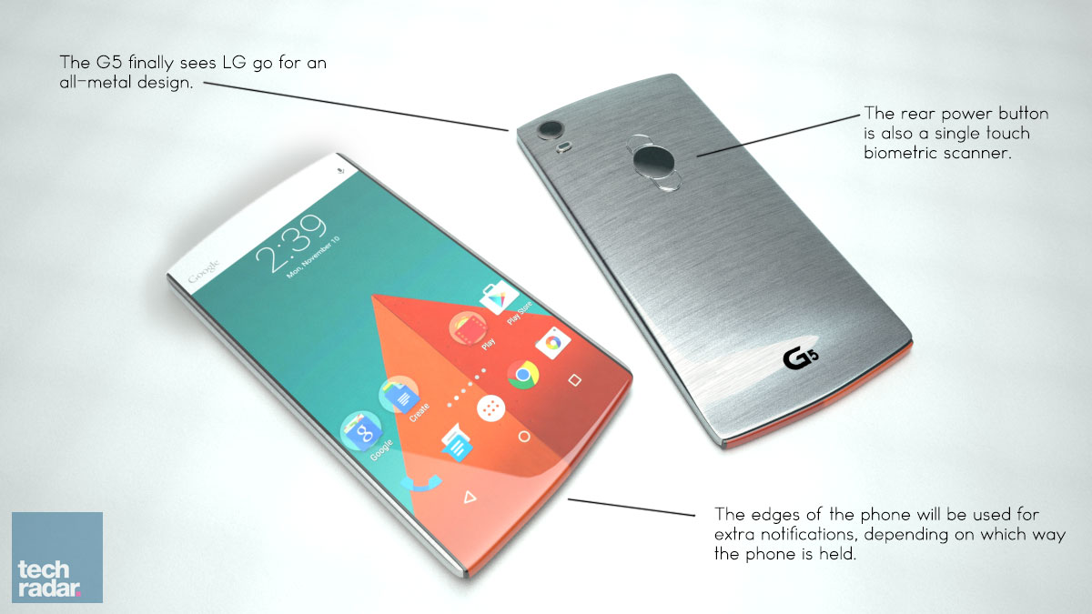 LG G5 Coming Out With Full-Metal Body?