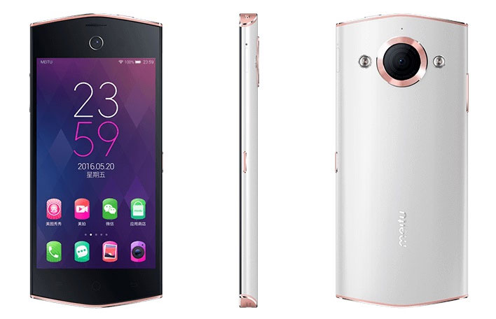 Meitu V4 Front and Rear