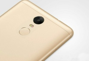Redmi Note 3 Fingerprint Reader On the Rear