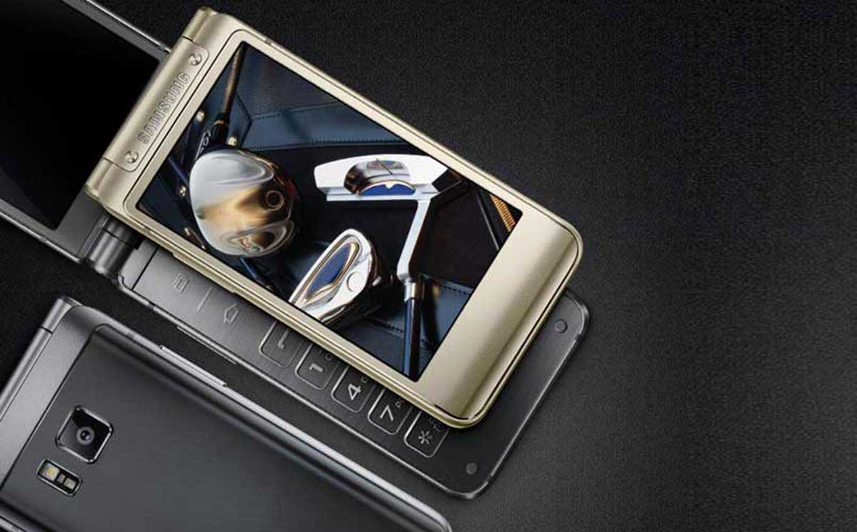 Samsung W2016 Dual-Display Flip Phone Launched