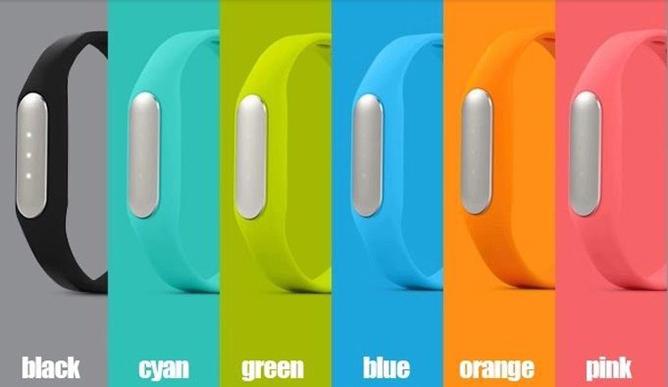 xiaomi mi band colors