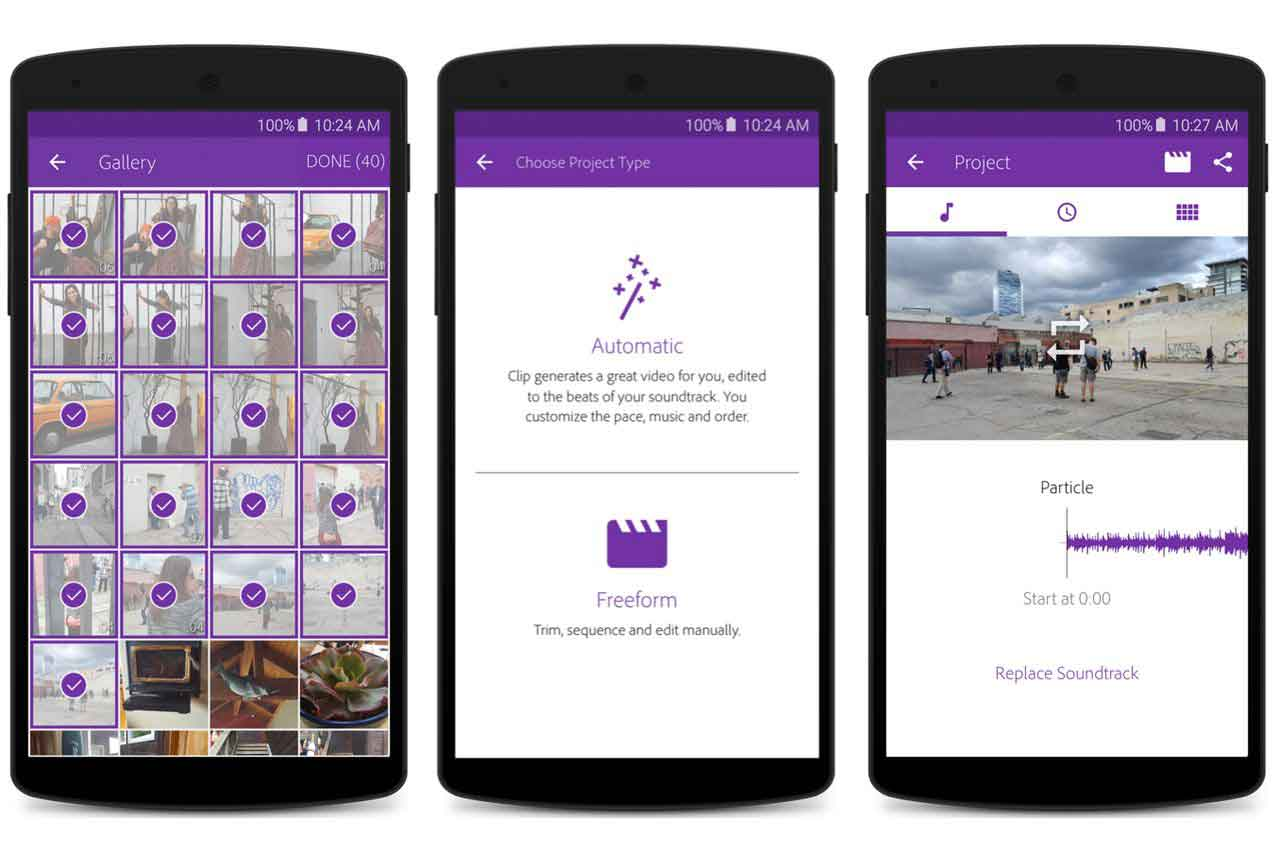 Adobe Premiere Clip Now Available For Android Smartphones