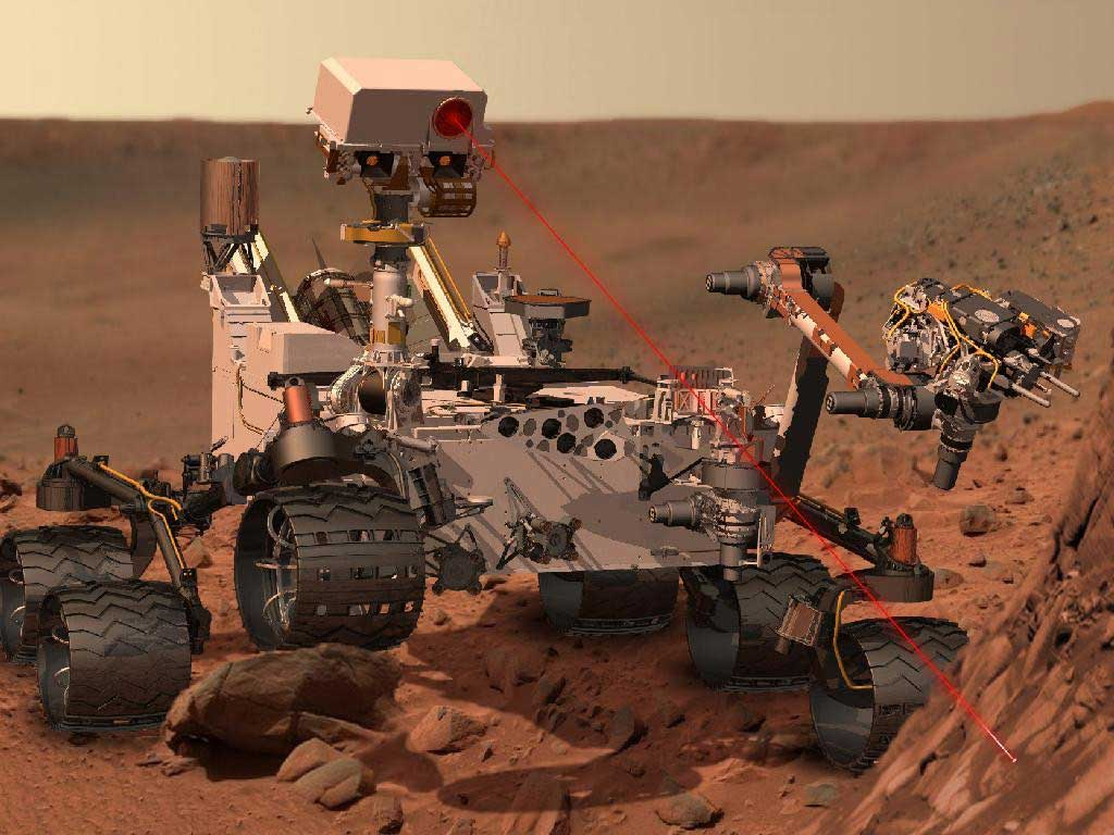 Curiosity Rover Finds Large Amount of Silica On Mars
