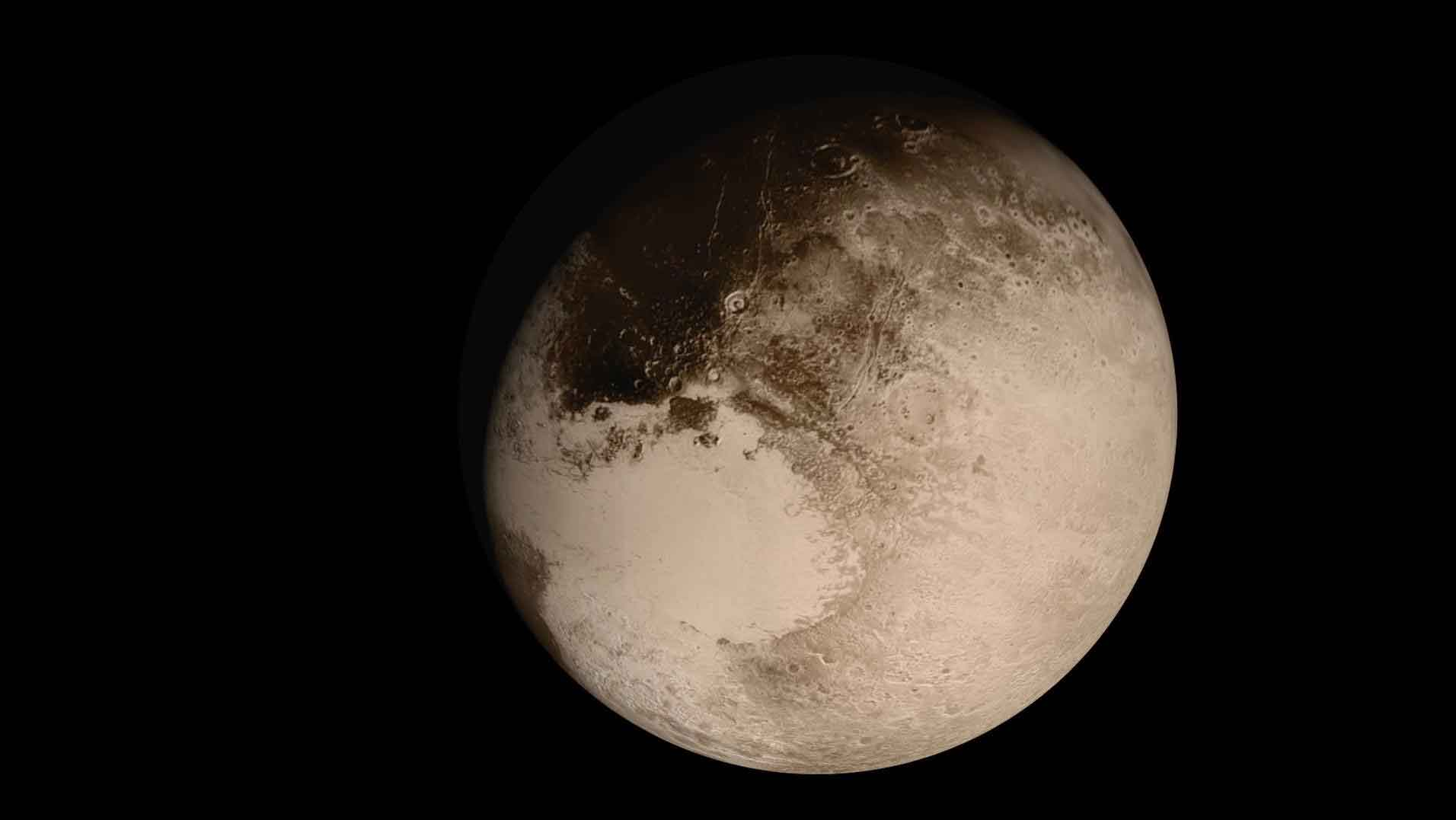 New Horizon Returns Best Close-Ups Of Pluto's Surface