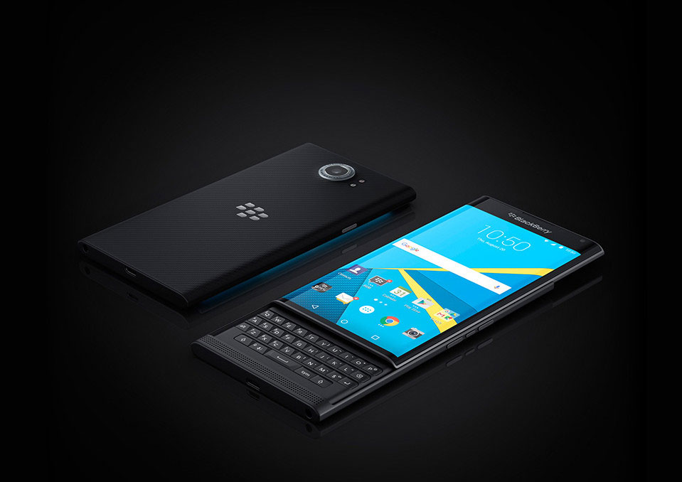 BlackBerry launches its first Android phone Priv in India