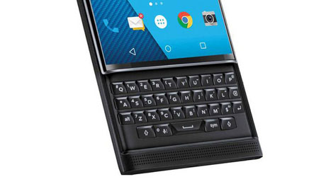 blackberry priv qwerty keypad