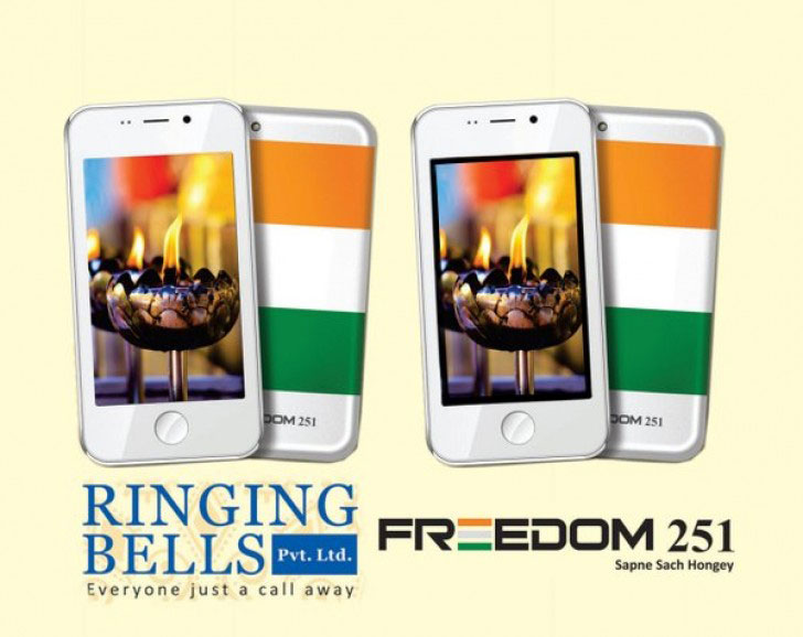 Freedom 251: The Cheapest Smartphone To Be Launched For Just Rs. 251