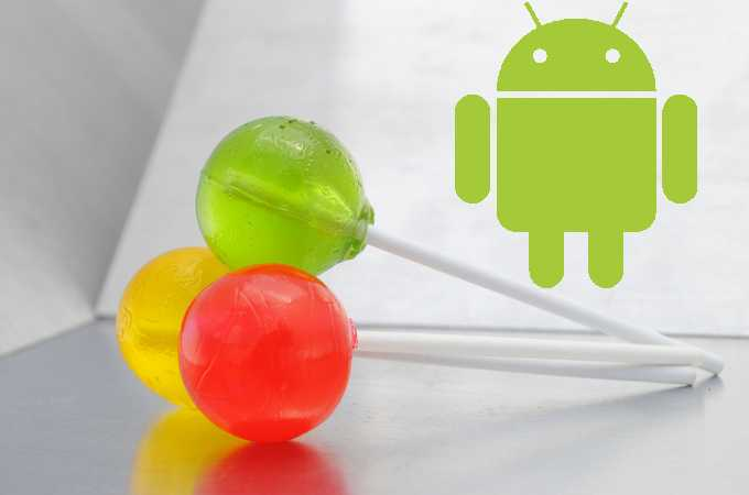 Android Lollypop
