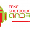 Android devices malware fake shutdown