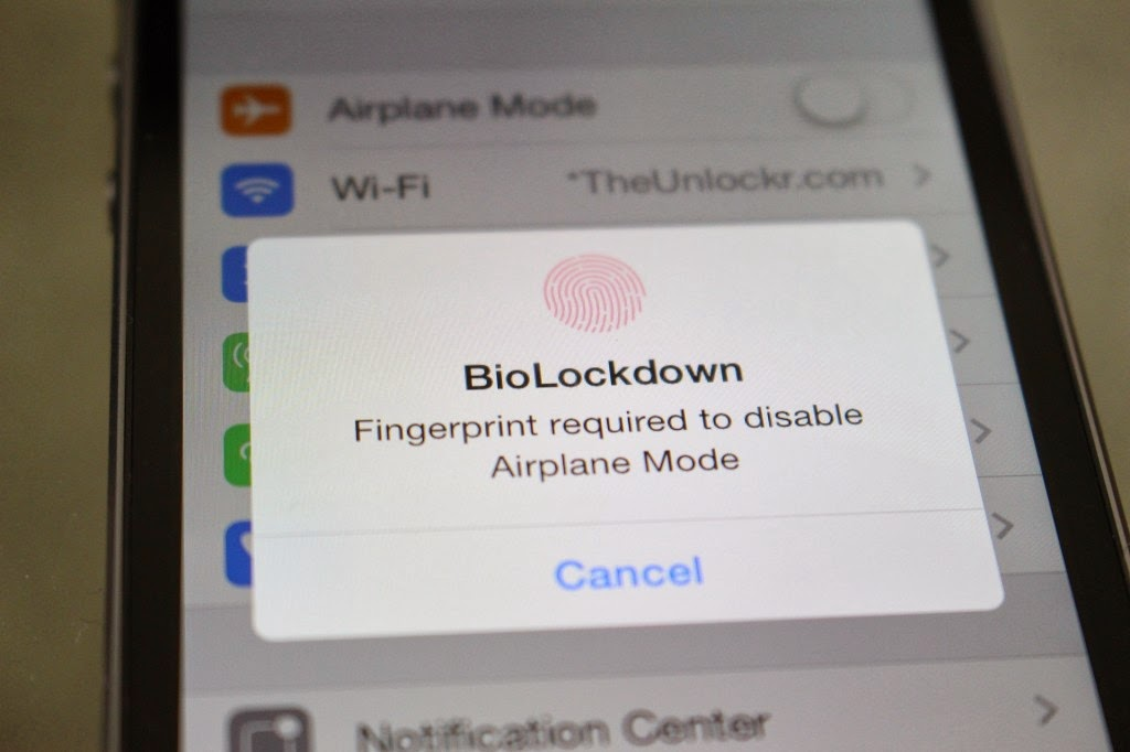 How to Lock Apps in iPhone 5s using Fingerprint Lock
