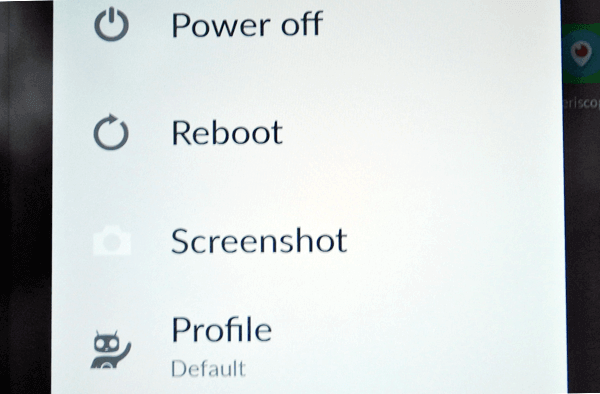 2 Ways to Take a Screenshot with Cyanogen OS
