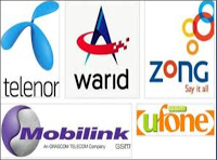 Mobile Internet Packages for Ufone, Jazz, Zong, Warid in Pakistan