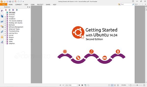 Getting started with Ubuntu Manual PDF document overview