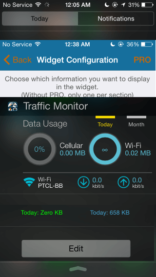 3 Ways to Monitor iPhone Network And Data Usage via Notification Center
