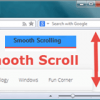 Opera Smooth Scroll enable disable