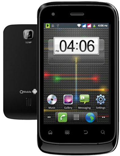 QMobile Noir A2 – 3.2MP Camera, Android v2.3, 1Ghz Processor, Amazing Smartphone