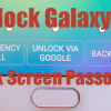 Recover Galaxy S6 Lockscreen Password Google Account