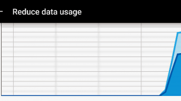 Reduce data usage Chrome Android