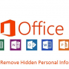 Remove Hidden Document Information in Microsoft Office