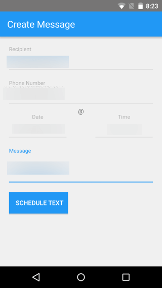 SMStagger: A Text Messages Scheduler for Any Date or Time on Android Phone