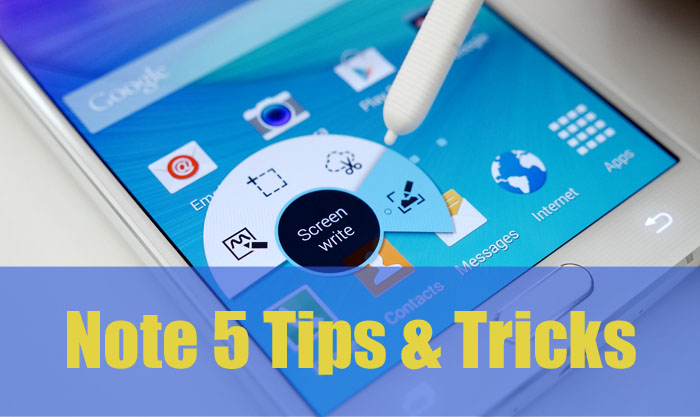 Samsung Galaxy Note 5 Tips and Tricks – Wireless & Wall Charger