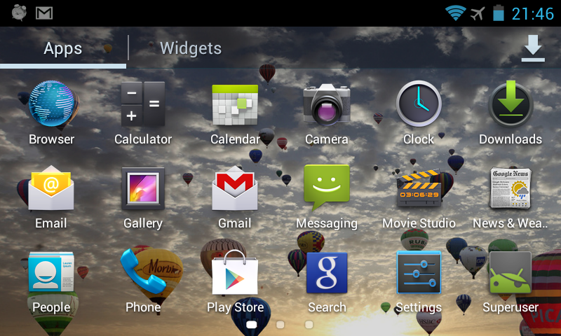 How to Capture a Screenshot in Android AOKP Rom (Android 4.0 ICS, Android 4.2 Jelly bean tested)