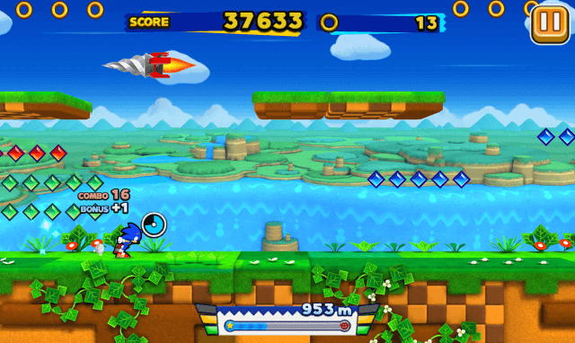 Sonic Runner android top games 2015