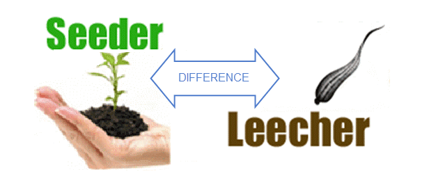 Torrent Seeders and Leechers Difference Copy
