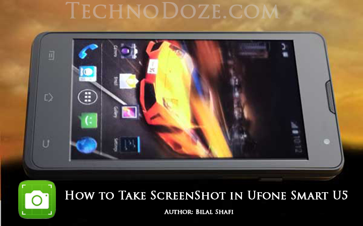 How to take Screenshot in Ufone Smart U5 (b.Social 4)
