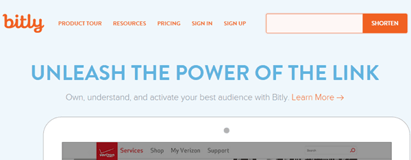 bitly URL shortner