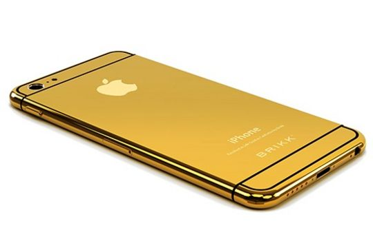 $1,536 worth (24-Karat) Gold Plated iPhone 6 is ready to Hit Market