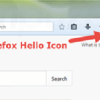 firefox rtc button enable or disable