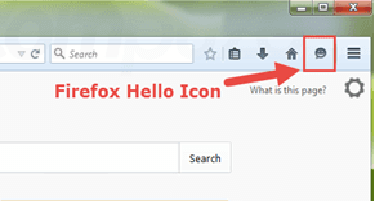 How to Show Firefox Hello Button if it's Missing?