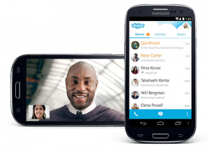skype for android - top 10 most popular apps in U.S