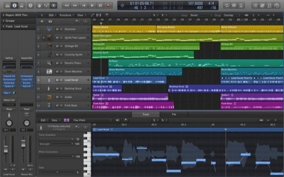 Logic Pro X 10.0.7 – New version released by Apple supports 24 threads on 12 Core Mac