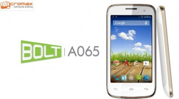 Promotional Banner of Micromax A065