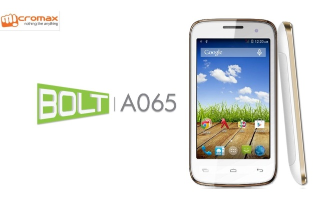 Micromax Bolt A065 – Full phone specs, Price, Review in India