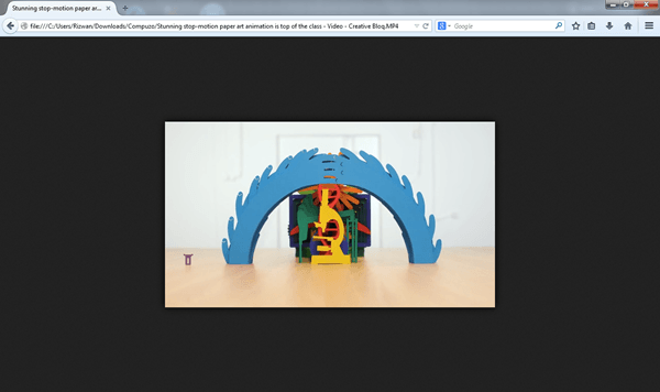 mozilla firefox browser vidoe play
