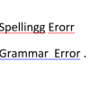 ms word spelling and grammar error checker