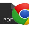 pdf to chrome browser open