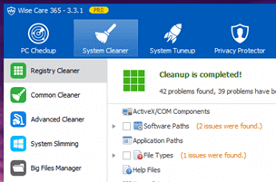 Speed up Windows by Fixing System Errors with Wise Registry Cleaner