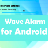 silence alarm with wave app android