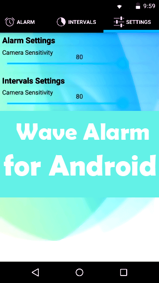 Wave Alarm: Silence Android Phone Alarm with a Wave of Hand