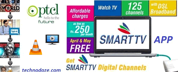 How to Watch PTCL Smart TV (IPTV) on VLC Player / Tano Player