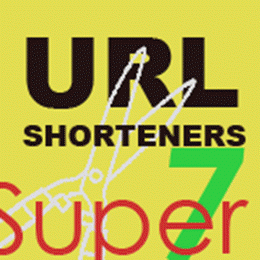 Super 7 URL Shortener services to shrink long website address