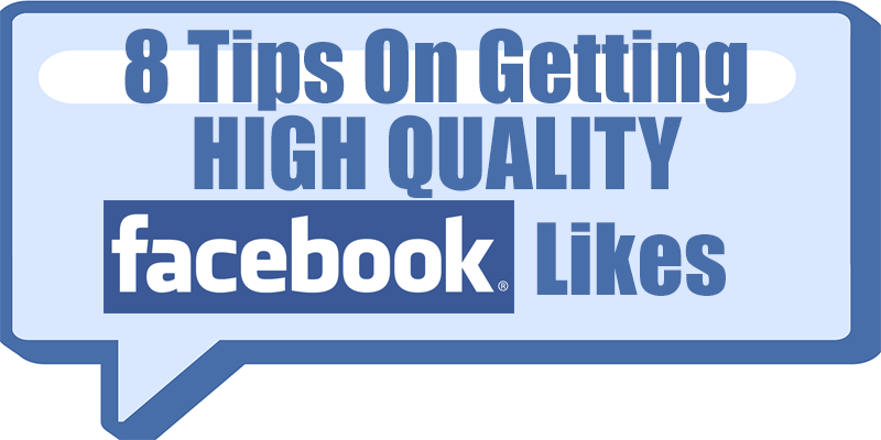 8 tips to get more Facebook Likes for your Business page